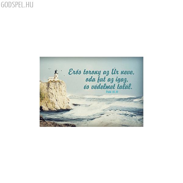 Igés kártya - Erős torony az Úr neve