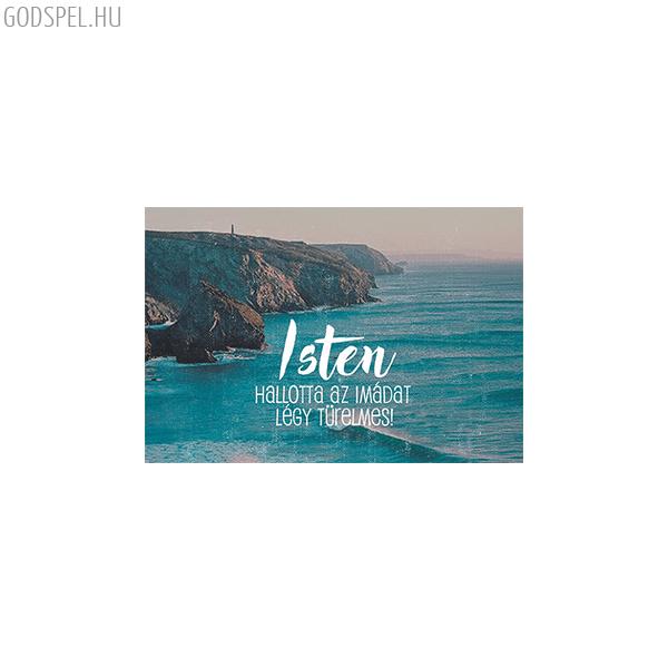Igés kártya - Isten hallotta az imádat
