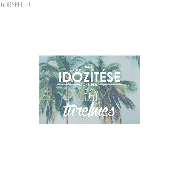 Minikártya – Isten időzítése tökéletes