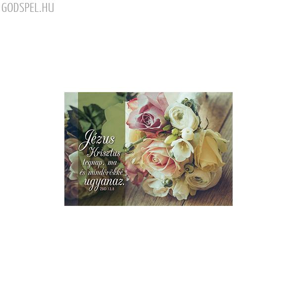 Minikártya – Jézus Krisztus mindörökké ugyanaz