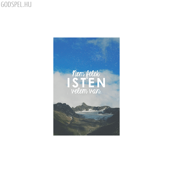 Minikártya – Nem félek Isten velem van