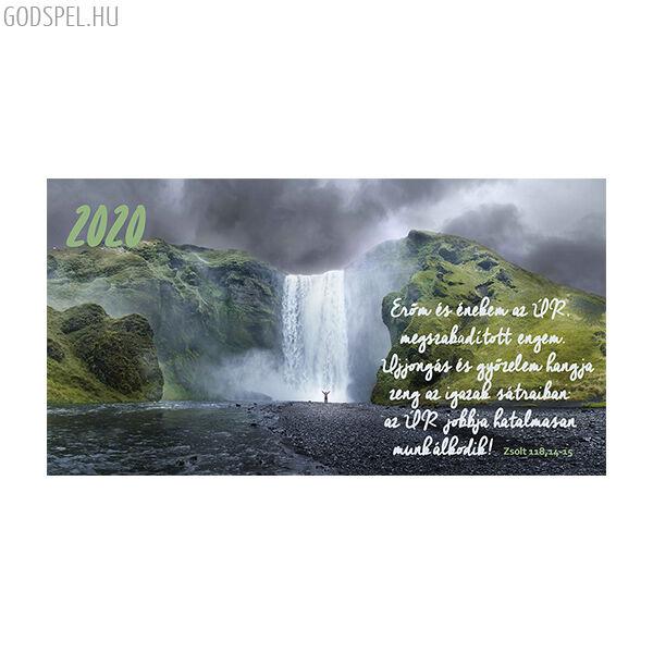 Zsebnaptár 2020 – Erőm és énekem az Úr